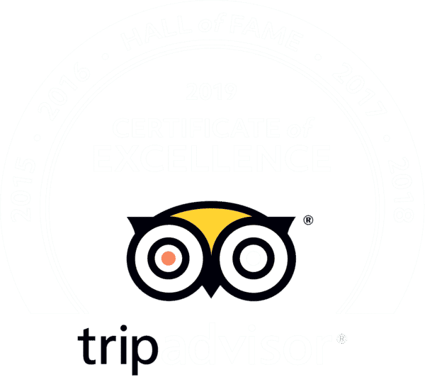 Trip Advisor Hall of Fame 2014-2019